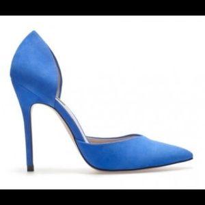 Zara Electric/Colbalt Blue Classy Heels. Size 8